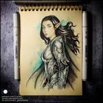 Sketchbook - Arwen