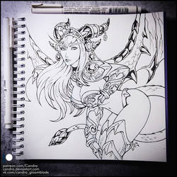 Sketchbook - Alexstrasza (NSFW on Patreon)