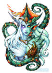 Two faces of Queen Azshara