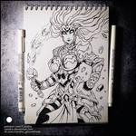 Sketchbook - Fury (NSFW on Patreon)