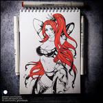 Sketchbook - Lelith Hesperax (NSFW on Patreon)
