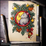 Skechbook - Year of the Rat