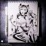 Sketchbook - Evelynn (NSFW on Patreon)