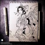 Sketchbook - Lunar Mercy (NSFW on Patreon)