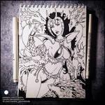 Sketchbook -  Takhisis (NSFW on Patreon)