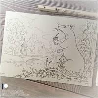 Sketchbook - Lucky Rat