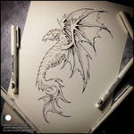 Sketchbook- Dragon