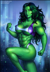 She-Hulk (SFW)
