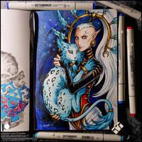 Sketchbook - Yvraine (color)
