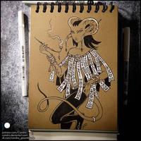 Sketchbook - Satyr Girl