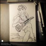 Sketchbook - Priscilla (NSFW on Patreon)