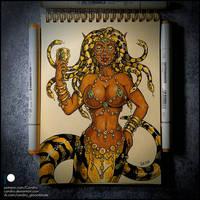 Sketchbook - Gorgon Sibyl
