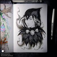 Sketchbook - Raven
