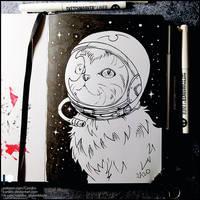 Sketchbook - Space Cat