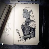 Sketchbook - Zarra Duskryn