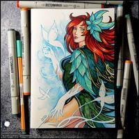 Sketchbook - The New Windranger Arcana