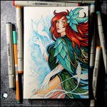 Sketchbook - The New Windranger Arcana