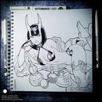 Sketchbook - Shuten Douji (SFW)