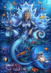Commission - Mermaid Queen