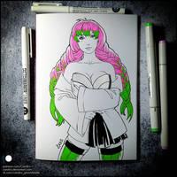 Sketchbook - Mitsuri Kanroji (NSFW on Patreon)