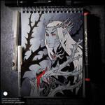 Sketchbook - Thranduil the Unseelie King