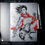 Sketchbook - Senna (SFW)