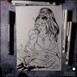 Sketchbook - Myst and rats
