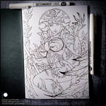 Sketchbook - Alarielle the Everqueen (SFW)
