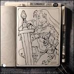 Sketchbook - Amazoness