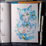 Sketchbook - Winter Ahri