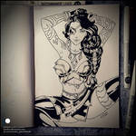 Sketchbook - Samira (SFW)