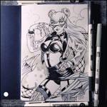 Sketchbook - K/DA ALL OUT Evelynn (NSFW)