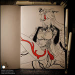 Sketchbook - Ningguang (SFW)