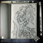 Sketchbook - Medusa