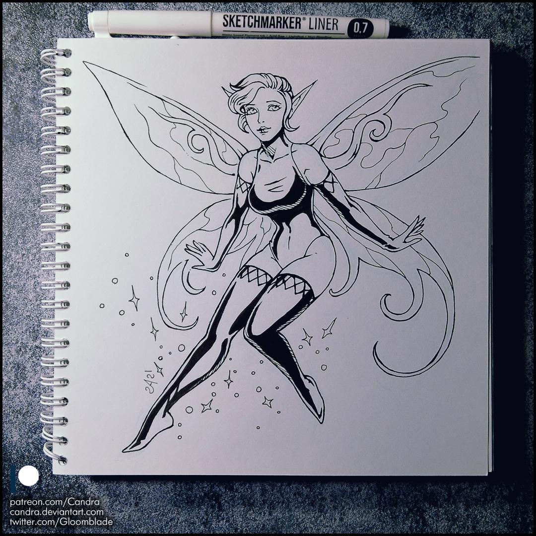 Sketchbook - Pixie