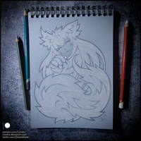 Sketchbook - Sleepy little Bunyip