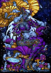 Sketch - Violet Shrieker