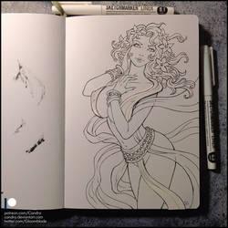 Sketchbook - Aphrodite (SFW)