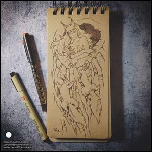 Sketchbook - Squirrels
