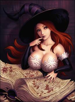 The Sorceress (SFW)
