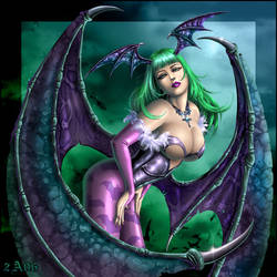 Morrigan-1 by Candra