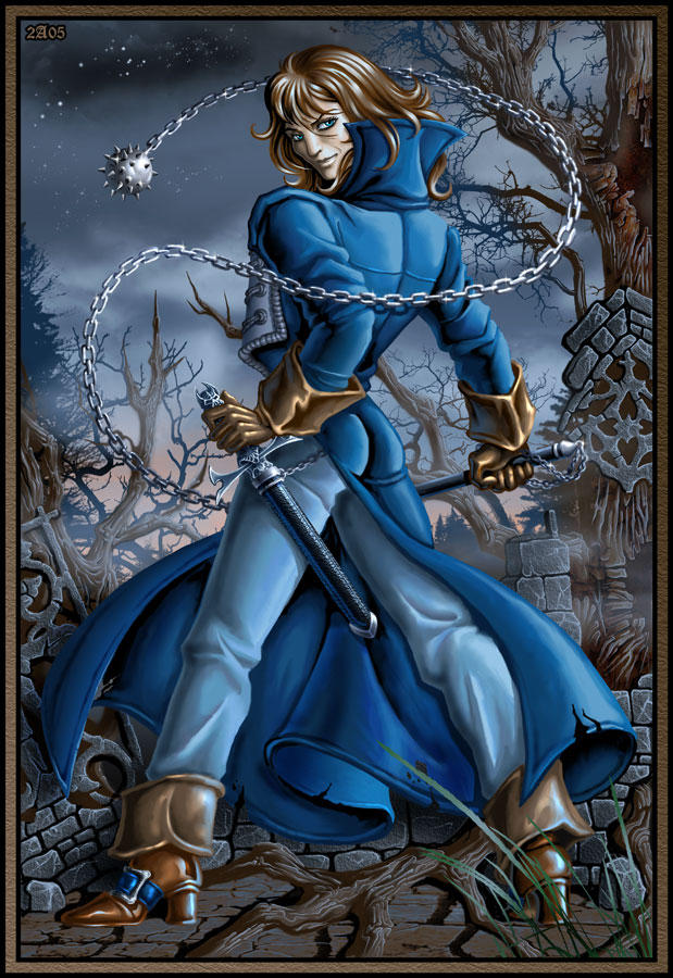 Richter Belmont color by Candra