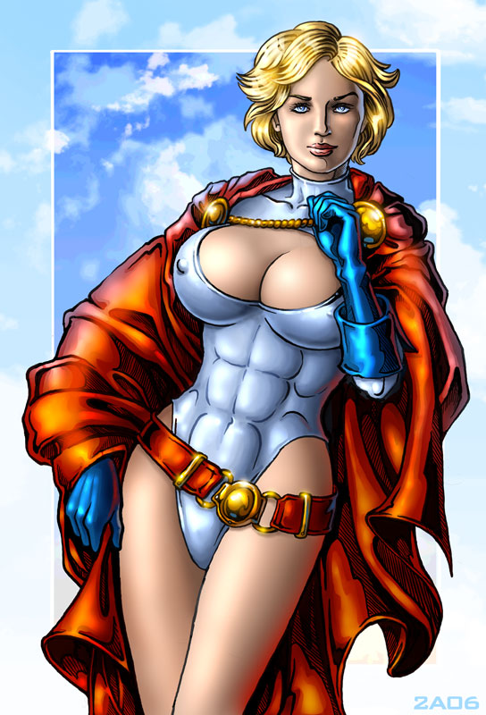 Power Girl I by Candra