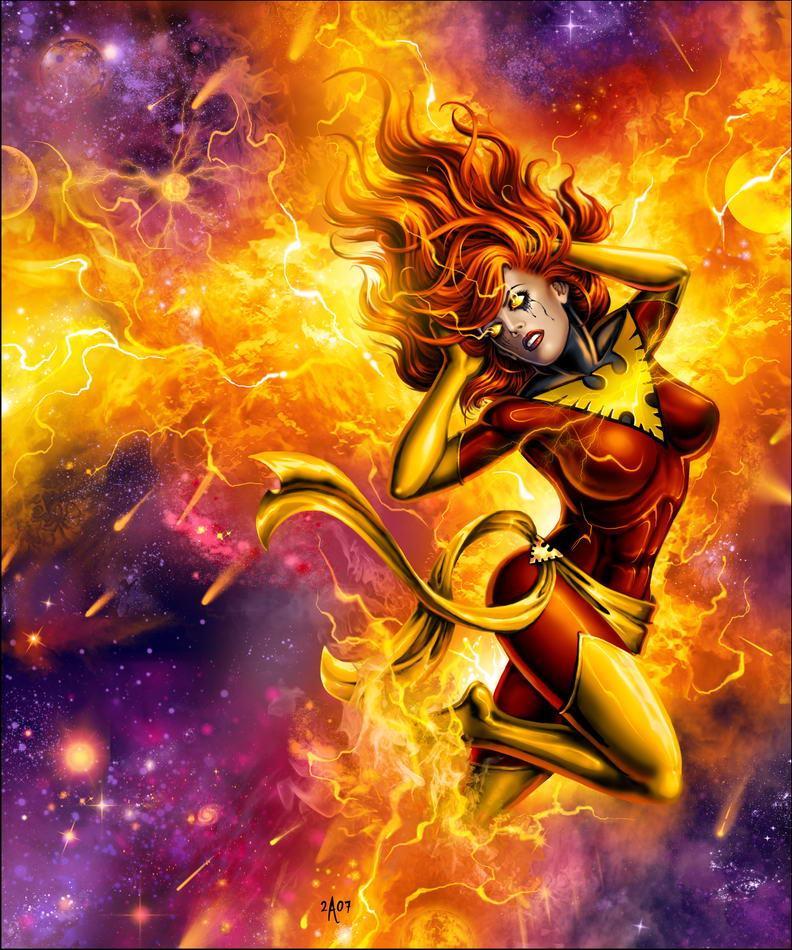 Dark Phoenix Logo depends who draws it