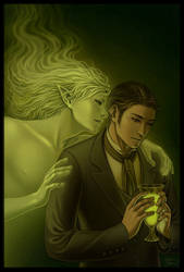 The Green Fairy by kayshasiemens