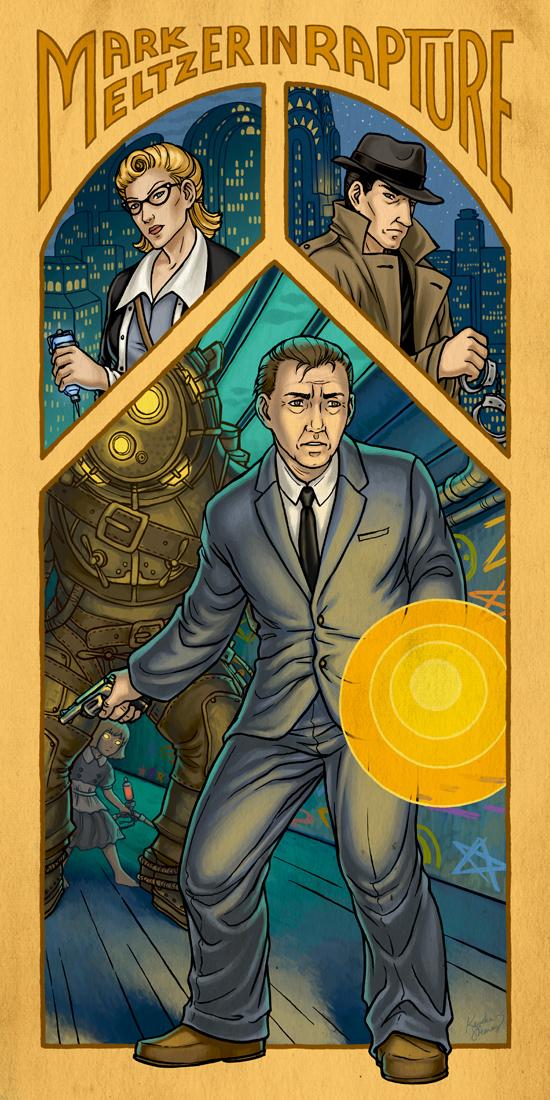 Bioshock: MARK MELTZER by Eldanis