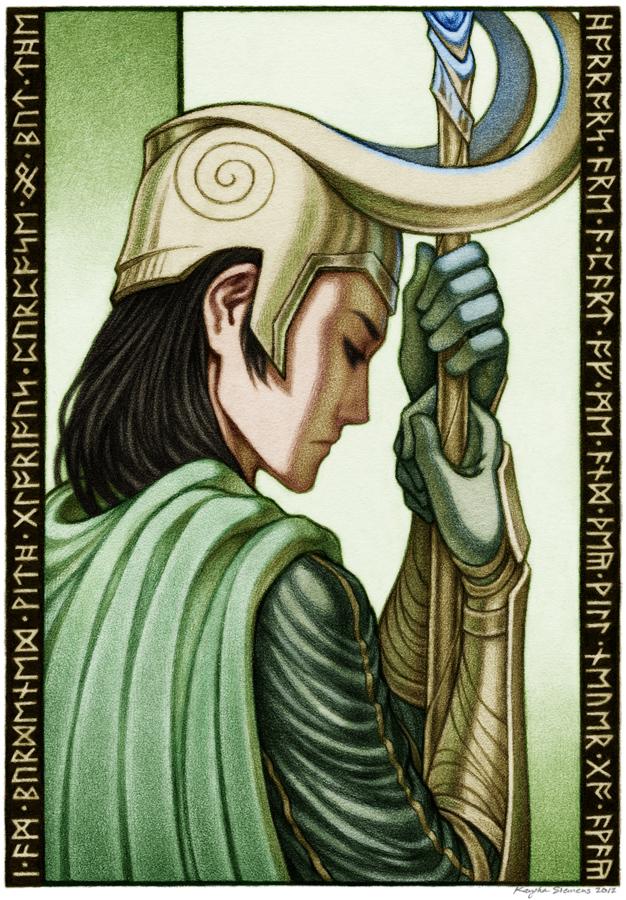 Loki by kayshasiemens