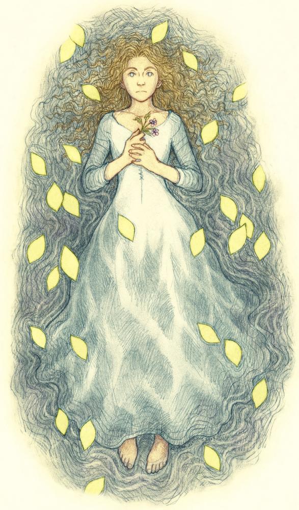 Ophelia by Eldanis