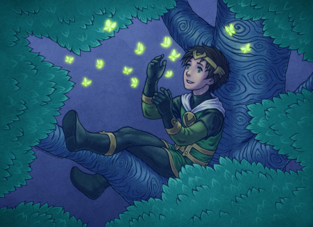 Kid Loki by Eldanis