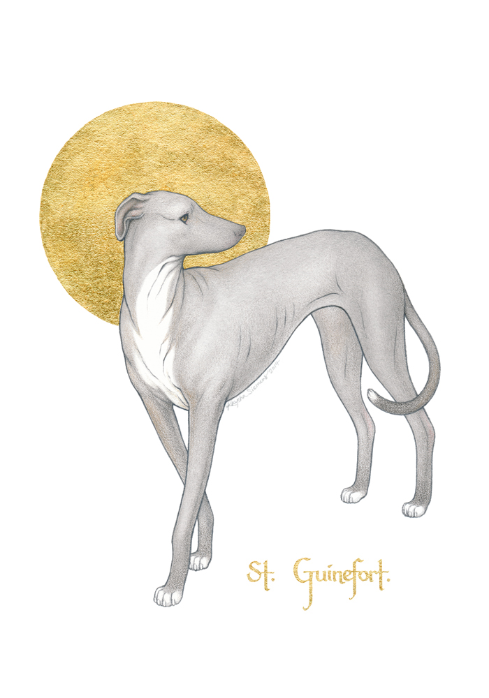 Saint Guinefort by Eldanis